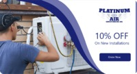 Platinum Air Conditioning Inc.is providing 10% off on New Installation service. Contact us (818) 464-4292 to grab the deal.