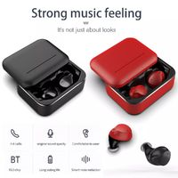 TWS Wireless bluetooth 5.0 Earphone HiFi Stereo Smart Noise Cancelling Bilateral Call Headphone with 3200mAh Charging Box