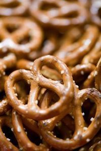 chili cheese or curry flavored pretzels -- 2 recipes