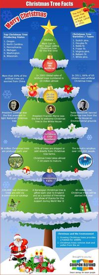 Christmas is upon us and one of the first items we get is a Christmas tree. The Christmas tree is a symbol of love and happiness. #infographic