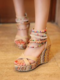 Summer Wedge Heels Shoes Sandals for Women,NEW,on Sale!