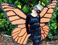 Monarch #butterfly #costume #DIY by