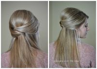 Taming Rapunzel | The blog: Elegant Half-up
