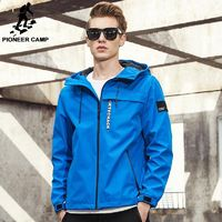 Pioneer Camp New Spring jacket men brand clothing fashion hoodie jacket coat male top quality casual outwear for men AJK707009 $79.48