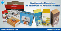 Retail Boxes For Particular Business by RegaloPrint