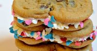 How to make Break and Bake Cookies Heart Shaped at www.astepinthejourney.com