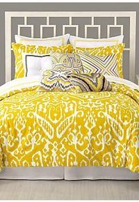 Trina Turk Trina Turk Ikat Bedding Collection #belk #bedding #patterns
