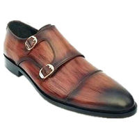 Johny Weber Handmade Crafted Double Strap Monks