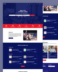 """https://html.design/download/career-job-html-template/ Hirevac �€"""" Free Career Job HTML Template designed for job board template, university, college and school. It contains all files required files for creating successful job portal website."""