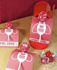 Valentines with printables