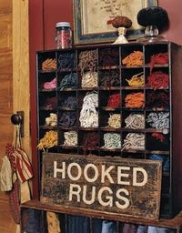 Great storage- this would be so great to sort extra cut strips! Now to find one.....