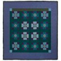 Amish Nine Patch, circa 1940, part of the former Esprit Collection. Free vintage quilt pattern from McCall's Quilting.
