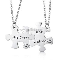 His Crazy Her Weirdo Promise Pendants Puzzle Piece https://www.gullei.com/his-crazy-her-weirdo-promise-pendants-puzzle-piece.html