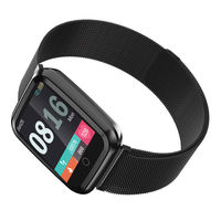 Bakeey N99 IP68 Waterproof Custom Dial 24h Heart Rate Monitor 1.3inch IPS HD Screen Full Steel Smart Watch