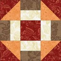 Free Quilt Block Patterns - Grecian Square Quilt Block Pattern