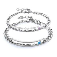 King Queen Matching Couple Bracelets Valentines Gift https://www.gullei.com/king-queen-matching-couple-bracelets-valentines-gift.html