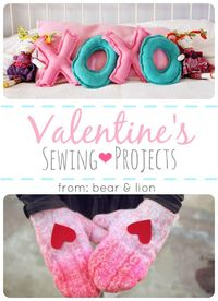 there are so many wonderful sewing projects out there for valentine's day. i chose ones that i thought my kids, family or friends would enjoy. and, one's that i
