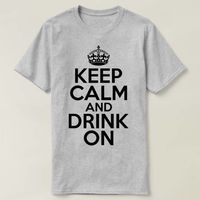 Keep Calm and Drink On T-shirt, St Patricks Shirt, St Patricks Day Shirt, Wife Gift, St Patricks Gift, Girlfriend Gift, Ireland Gift $16.50