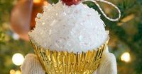 """""""If you're looking for a unique and sweet decorative touch for an upcoming bridal or baby shower, these easy to make Styrofoam cupcakes are sure to satisfy. You"""