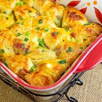 Bacon Cheese Pull-Aparts are an easy snack or appetizer