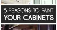 There are so many great reasons to transform your tired, old kitchen cabinets into cabinets that will make your entire kitchen look updated. Here are some of th