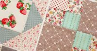 farmer's wife quilt blocks. Nice colors. May have to make one