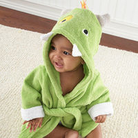 No messy monsters allowed! It's a little known fact that Closet Monsters love to keep cozy from top to tail, especially after a bath! Keep the new little monster in your life warm and dry in this adorably detailed terrycloth hooded rob, and don&rsqu...