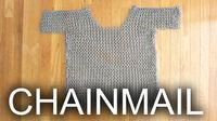 Chainmail can do more than just protect you from sharp objects. It can also protect you from high voltage electricity. Many people who work with Tesla coils use