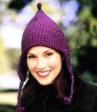 cute ear flap hat pattern