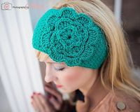 Easiest Headwrap EVER by Jonna Ventra of Frayed Knot #crochet #pattern #free