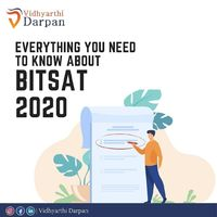 Know everything you should know about BITSAT and start your preparation.