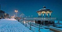 #snow #brighton #winter I am looking forward to english weather!