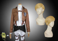 Erwin Smith Attack on Titan Recon Corps Cosplay Costume