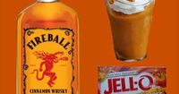 Pumpkin Fire Pudding Shots Ingredients: Sm Pumpkin Spice Instant Pudding ¾ c Whole Milk ¾ c Fireball Whisky 8oz Cool Whip (Extra Creamy preferred but not required) Directions: Whisk Whole Milk &amp�€�