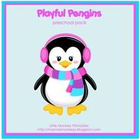 Download a free copy of the Playful Penguins Preschool Pack from Our Little Monkeys.