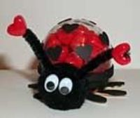 Love Bug Candy Holder Valentine's Day Craft for Kids