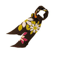 Brighton Silk Scarf The Brighton scarf is made from 100% silk and is long and slim in shape. Made in Italy this elegant scarf is decorated with a vivid floral design that will add a splash of Summer colour to any outfit. http://www.comparestoreprices....