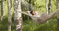 Sometimes, relaxing on the porch requires a comfortable and stylish hammock. With a few tools and some basic math skills, you'll have a beautiful chair that sho