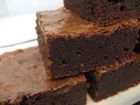 These brownies are so moist, chewy, and incredibly delicious, that you will NEVER believe that they each have just 2 Weight Watchers Points per brownie!!! This