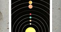 The Solar System Print | Art Prints | ISCREENYOUSCREEN | Scoutmob Shoppe | Product Detail