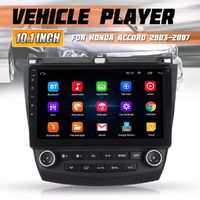 10.1 Inch 8 Core for Android 8.1 Car MP5 Player Stereo Radio GPS Nav WIFI 4G 3G AM DAB For Honda Accord