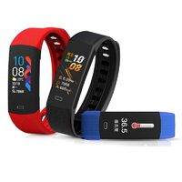 Bakeey B6W Body Temperature Blood Pressure Oxygen Heart Rate Monitor Brightness Camera Control Sport Route Tracking Smart Watch