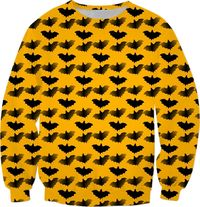 Black Bats Sweatshirt $59.95