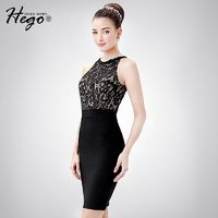 Sexy Seen Through Attractive Slimming Sheath Tulle It Girl Summer Formal Wear Dress - Bonny YZOZO Boutique Store