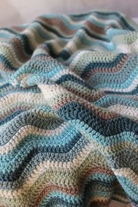 Ravelry: Project Gallery for Neat Ripple Pattern pattern by Lucy of Attic24