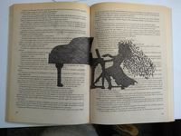drawing on book