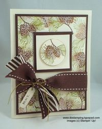 Stampin Up Christmas Cards Pinterest | Stampin' Up!: Autumn Days Ideas - DOstamping with Dawn, Stampin' Up ...