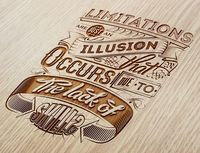 In our typography inspiration galleries we've gathered last weeks findings of nice text based designs using typography, calligraphy and lettering.If you would l