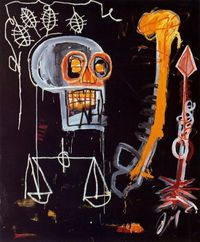 "Basquiat's ""Black Skull"""