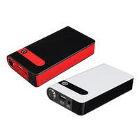 12000mAh Emergency Jump Starter Booster Multi-functional LED Light Compass SOS Mode Power Bank Q3.0 Fast Charging Auto Power Source